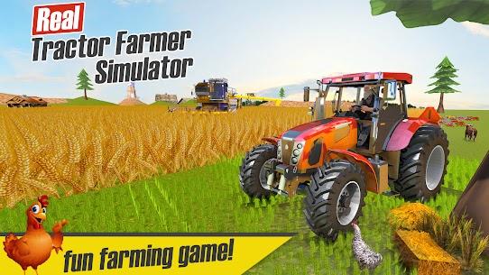 Real Tractor Farmer Simulator: Tractor Games 1