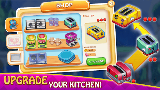 Cooking Delight Cafe Chef Restaurant Cooking Games  screenshots 6