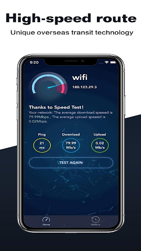 Speed Test modavailable screenshots 2