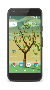 Tree With Falling Leaves Live Wallpaper – FREE 1.7.0 APK Mod Updated 1