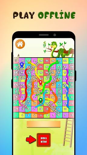 Neo Classic Snake and Ladder : King of Board Game  screenshots 2