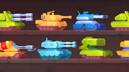 Tank Stars 1.5.4 MOD APK [INFINITE MONEY] 1