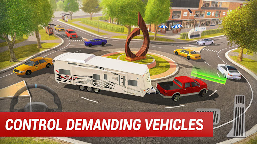 Roundabout 2: A Real City Driving Parking Sim 1.4 Screenshots 2