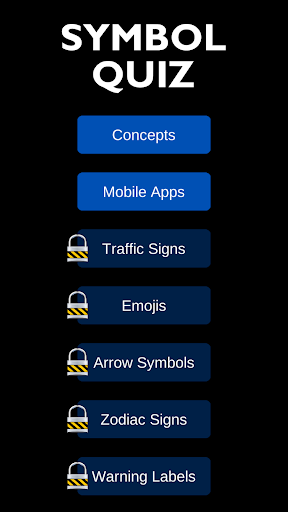 Symbol Quiz 1 screenshots 1