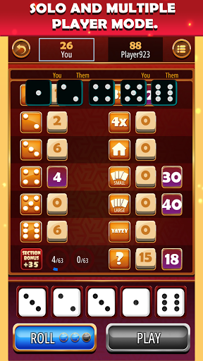 Yatzy Classic - Free Dice Games 1.2.2 screenshots 8