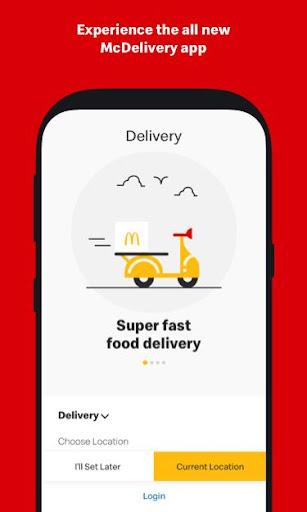 McDelivery- McDonaldu2019s India: Food Delivery App 10.51 Screenshots 1