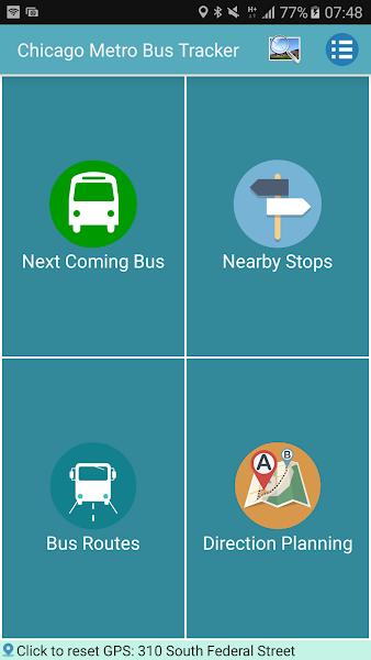 Chicago Bus Tracker (CTA)