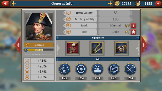 European War 6: 1804 - Napoleon Strategy Game 1.2.28 Screenshots 7