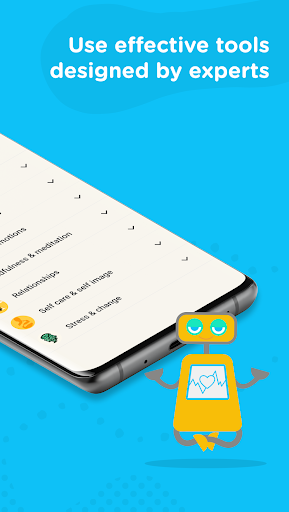 Woebot: Your Self-Care Expert android2mod screenshots 3