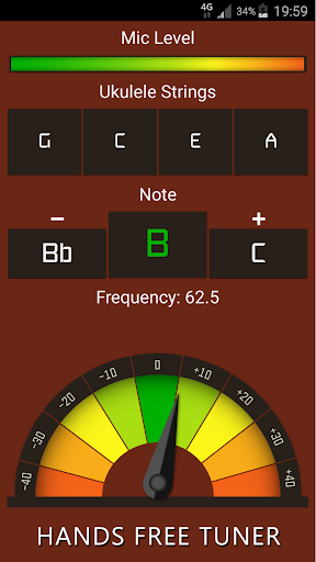 Ukulele Tuner Free 12.0 Screenshots 1