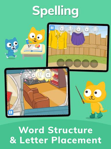 Studycat: Fun Spanish for Kids apktram screenshots 23