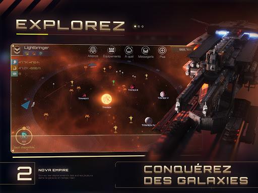 Télécharger Gratuit Nova Empire: Commandant spatial -MMOde stratégie apk mod screenshots 3