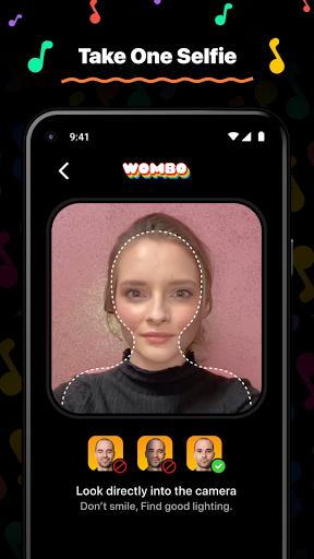 Wombo: Make your selfies sing  screenshots 1