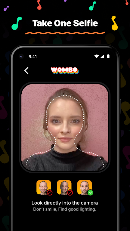 Wombo: Make your selfies sing poster 0