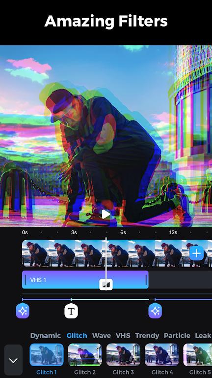 GoCut - Glowing Video Editor poster 3