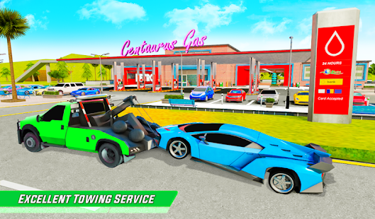 Gas Station Car Driving Simulator Car Parking Game  Screenshots 12