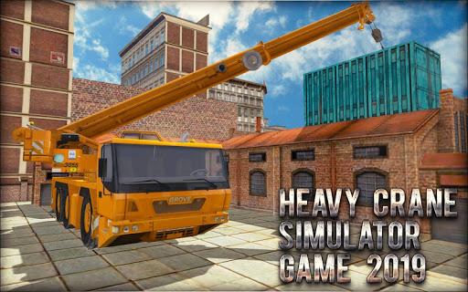 Heavy Crane Simulator Game 2019 u2013 CONSTRUCTIONu00a0SIM screenshots 7