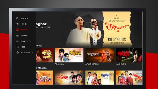 KLiKK u2013 Bengali Movies   Web Series   Music   Kids screenshots 2