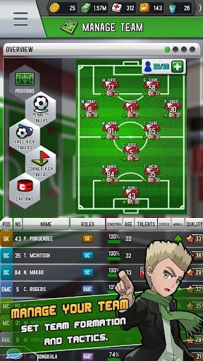 Télécharger Gratuit Soccer Strike Manager  APK MOD (Astuce) screenshots 1