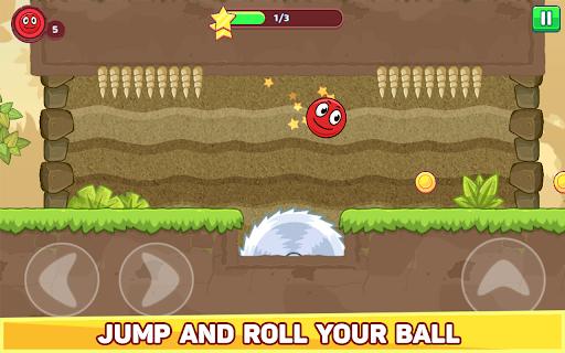 Bounce Ball 5 - Jump Ball Hero Adventure 3.9 Screenshots 10