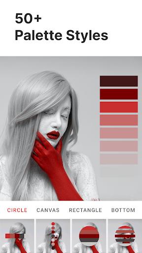 Palette Pantone ud83dudcf7 Add color palettes to photos 2.01 Screenshots 2