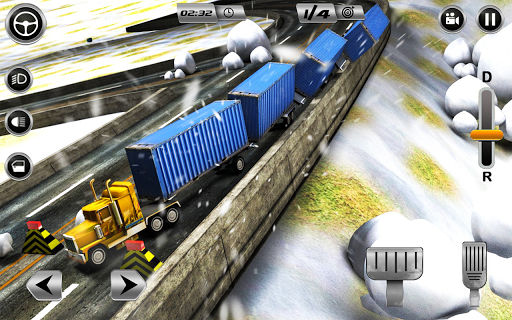 Euro Long Trailer Truck Sim 2021: Cargo Transport 2.4 screenshots 4