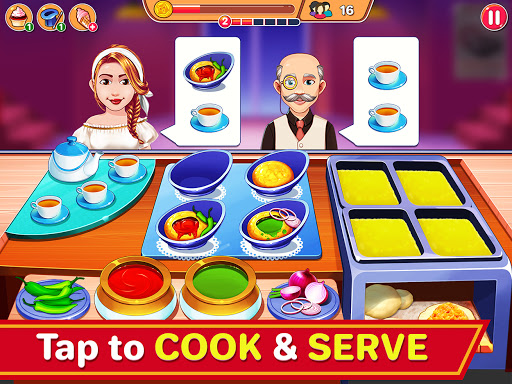 Indian Cooking Madness - Restaurant Cooking Games screenshots 8