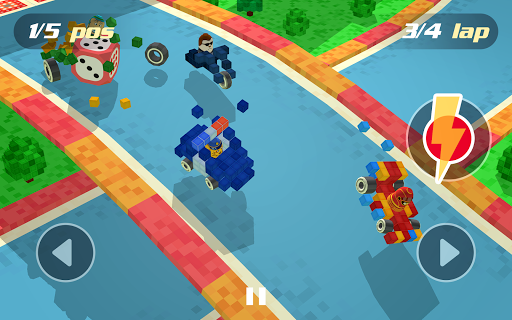 Pixel Car Racing - Voxel Destruction 1.1.2 screenshots 9