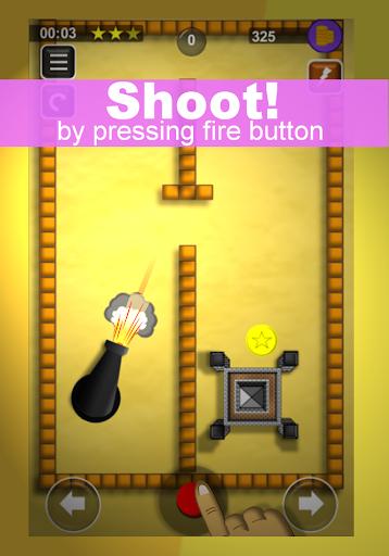 bounce n bang : physics puzzles - bounce off game screenshot 2
