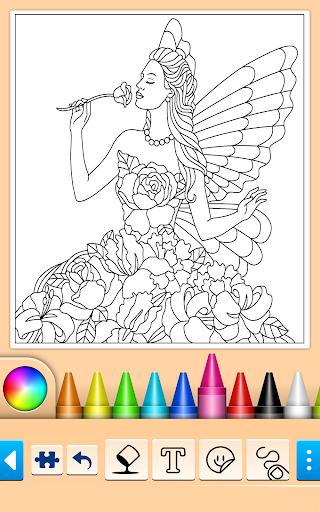 Princess Coloring Game 15.3.8 Screenshots 3