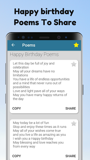 Poems For All Occasions - Love, Family & Friends android2mod screenshots 12
