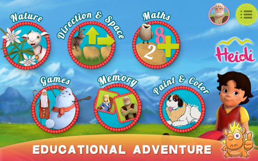 Heidi: best toddler fun games 7.0 Screenshots 9