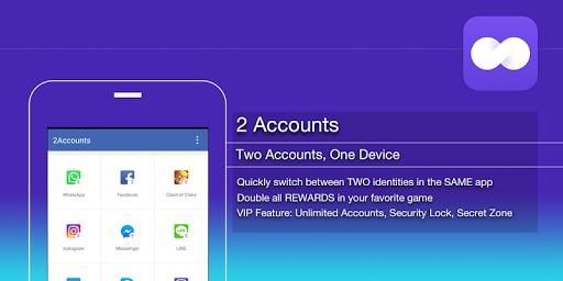 2Accounts - Dual Space & Dual Apps apktram screenshots 5