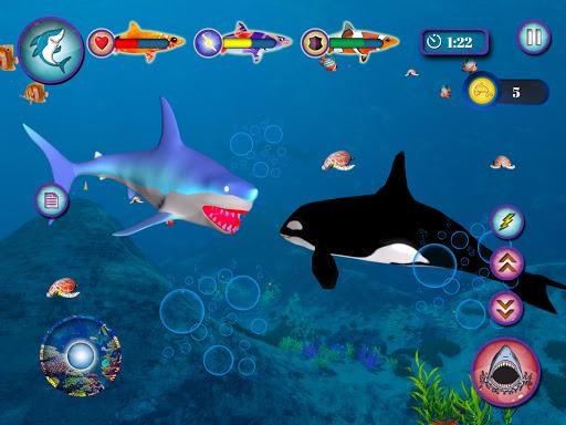 Ocean Shark Simulator u2013 Animal Attack Simulator 0.1 screenshots 14