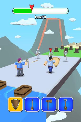Roblock Transform Run - Epic Craft Race apkpoly screenshots 12