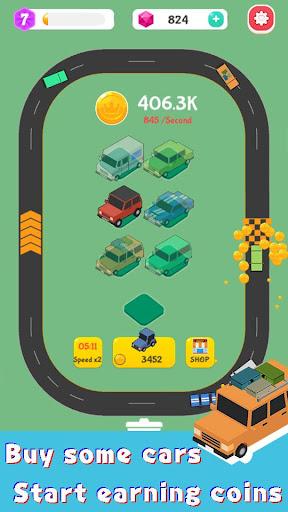 Merge Highway - Merge & Idle Motor Empire  screenshots 2