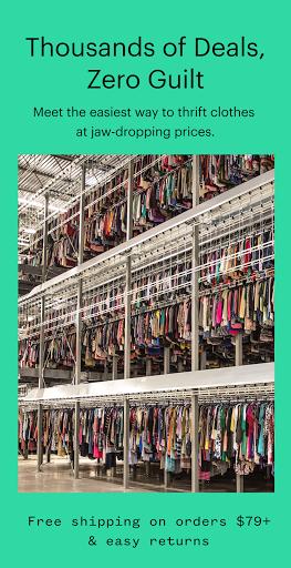 thredUP | Thrift & Sell Womenu2019s & Kidsu2019 Clothing modavailable screenshots 1