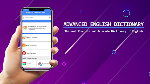 Advanced English Dictionary Meanings & Definitions apktram screenshots 7