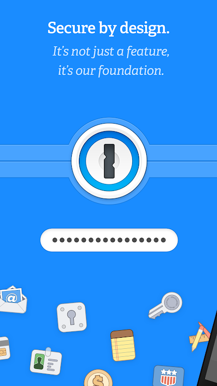 1Password - Password Manager and Secure Wallet  poster 1
