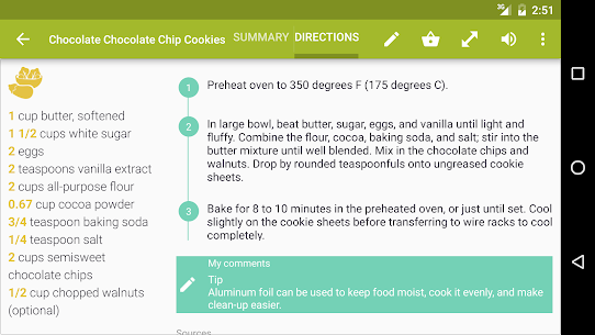 Cookmate (formerly My CookBook) – Ad-Free MOD APK 3