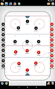 Coach Tactic Board: Hockey