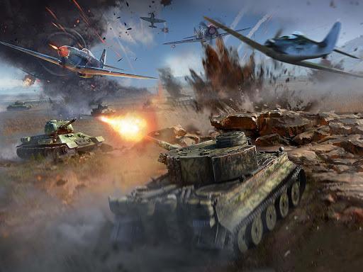 Real Battle of Tanks 2021: Army World War Machines 1.0.1 screenshots 7