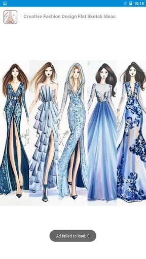 Creative Fashion Design Flat Sketch Ideas  Screenshots 12