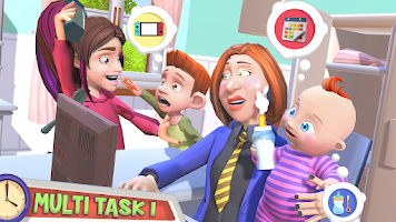 Mother Simulator: Happy Working Mom Family Life