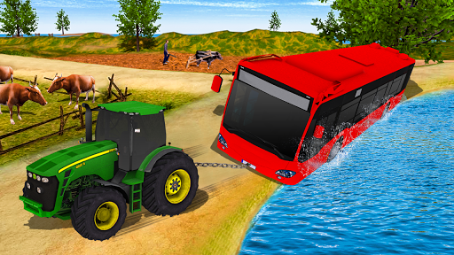 Tractor Pull & Farming Duty Game 2019 1.0 screenshots 5