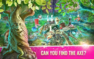 Magic Forest with Talking Tree: Hidden Object Game