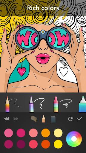 Girls Coloring Book 3.1.1 screenshots 17