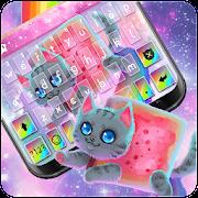 Rainbow Cat Keyboard Theme