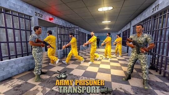Army Prisoner Transport: Truck & Plane Crime Games 6