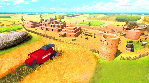 Farming Game 2021 - Free Tractor Driving Games  screenshots 1